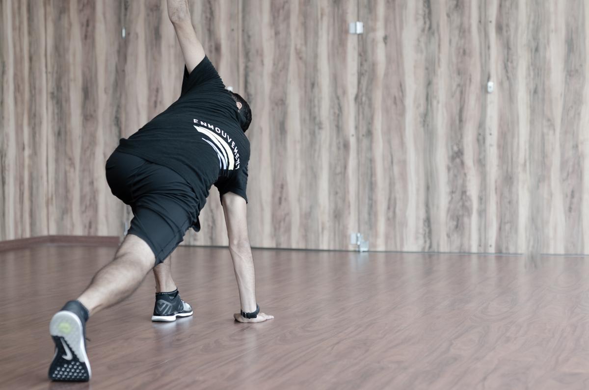 Stretching dynamique Enmouvement